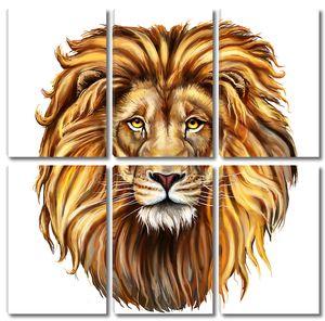 Король Лев портрет
