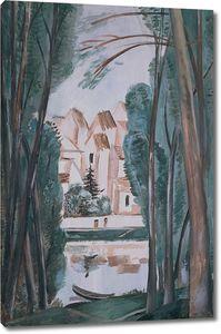 Андре Дерен. Пейзаж с лодкой
