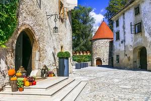 Средневековые улочки Словении