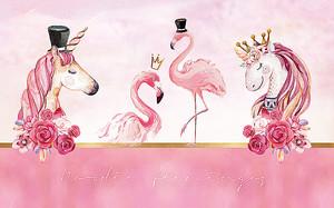 Единороги и фламинго