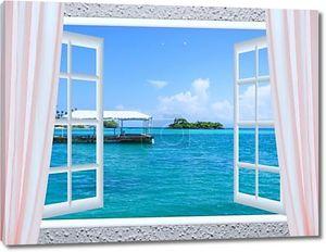 Открытое окно к морю
