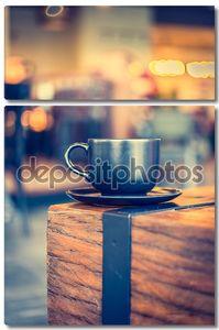 кофейная кружка в кафе