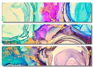 Разноцветный флюид