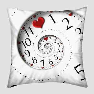 Infinity time with heart shapes