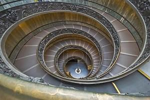 Лестница в Ватикане