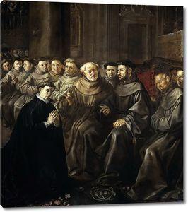 Эррера Франсиско де (Старший). Святые Бонавентура и Франциск