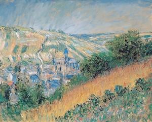 Моне Клод. Вид Ветей, 1881