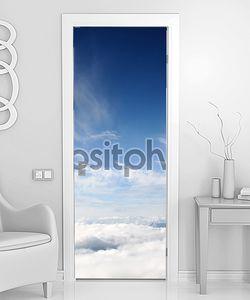Небо и облака над горами