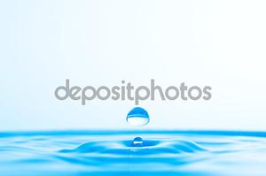 Голубая капля