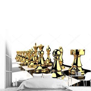 Металлические  шахматные фигуры
