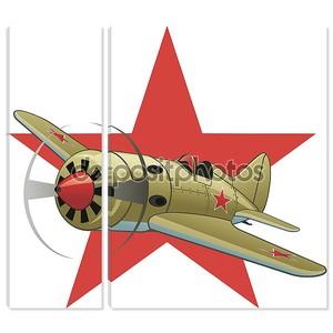 WW2 самолет