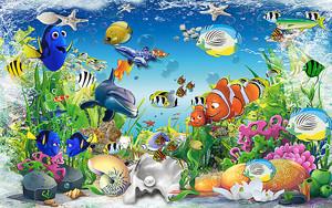 Яркий подводный мир