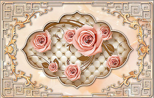Ковер роз