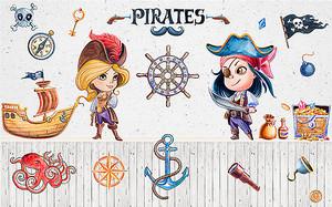 Пират и пиратка