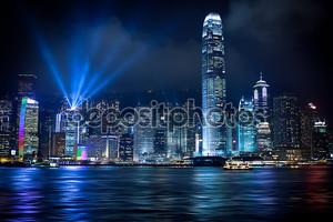 Hong Kong световое