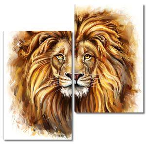 Живописный Король Лев