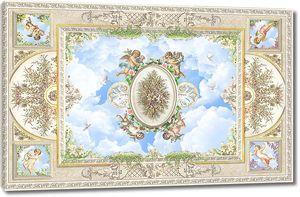 Потолок с ангелами