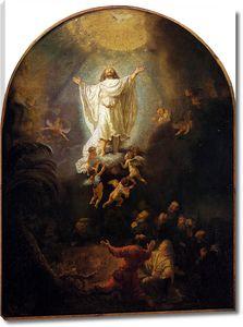 Рембрандт. Вознесение Христа