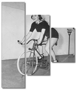 Всепогодный способ ездить на велосипеде