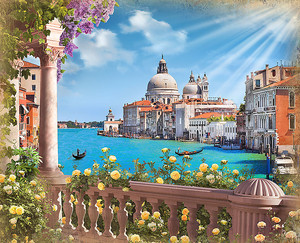 Венеция в солнечный день
