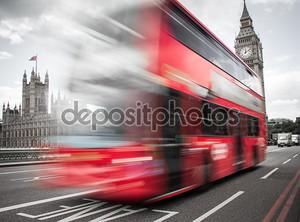 красный автобус, Вестминстерский мост