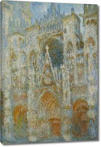 Моне Клод. Руанский Собор, портал в полдень, 1893