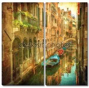 Старинные изображения венецианские каналы