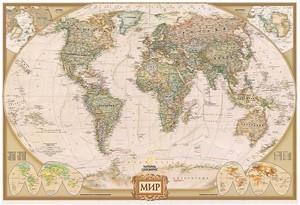 Большая современная карта