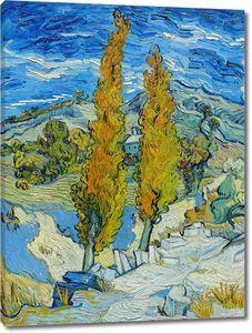 Ван Гог. Тополя в Сен-Реми