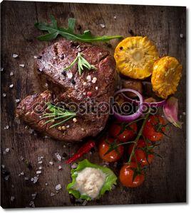 Вкусные блюда говяжьи стейки