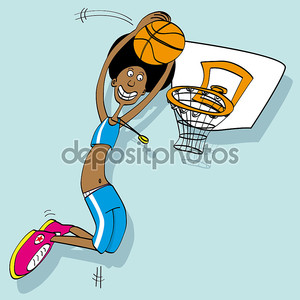 баскетболист