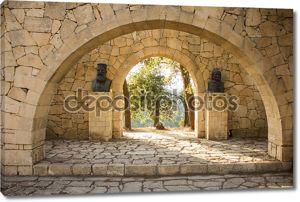 sculpture arkadi monastery