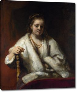 Рембрандт. Портрет Хендрикье Стоффельс