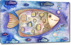 Рыба-дом