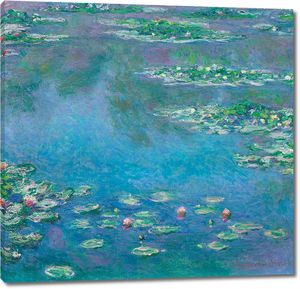 Моне, Водяные лилии, 1840-1926