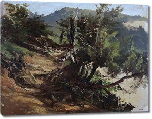 Аэс Карлос де. Дорога в лесах Астурии