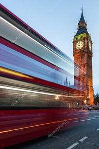Биг-Бен и трафика на Вестминстерский мост