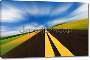 дорога скорости
