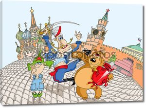 Иллюстрация Красной площади