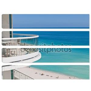 Балкон в океан