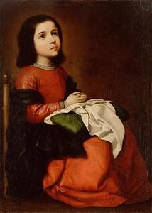 Сурбаран Франсиско. Отрочество Марии