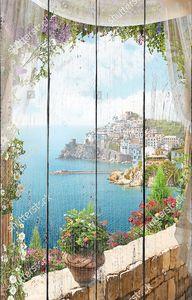 Вид из окна на полуостров