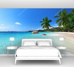 Пляж на острове Ислин, Сейшельские острова