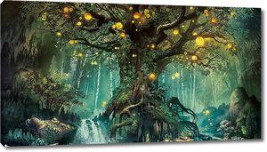 Светящееся дерево