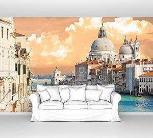 Венеция в облачную погоду
