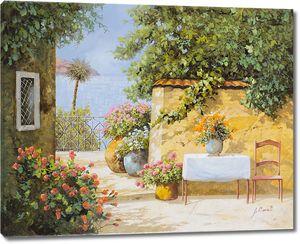 Улочки и дворики Италия