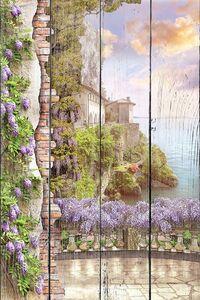 Вид с милого балкона на море