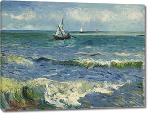 Ван Гог. Морской пейзаж у Сент-Мари-де-ла-Мер