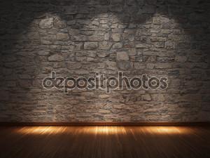 Комната освещенная тремя фонорями