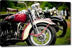 Старый мотоцикл фестиваль